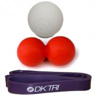 Kombination af SMR produkter og elastik til træningen