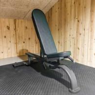 Justerbar bænk til professionel gym