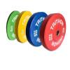Farvede bumperplate vægtskiver