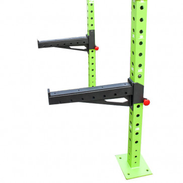 Ekstra lange gribe arme hvis man taber vægtstang i squat