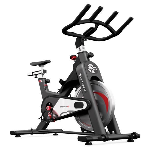 Spinningcykel med 15 kg svinghjul og maks brugervægt på 130 kg. God cykel til hjemmebrug.