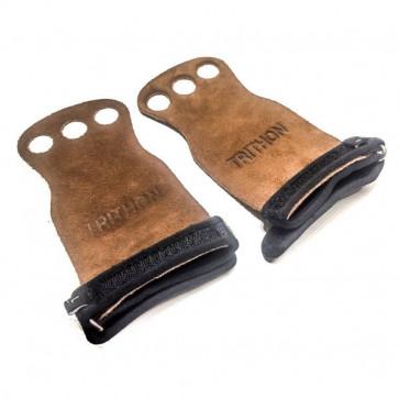 Brede grips til pullups der beskytter håndfladen mod sår.