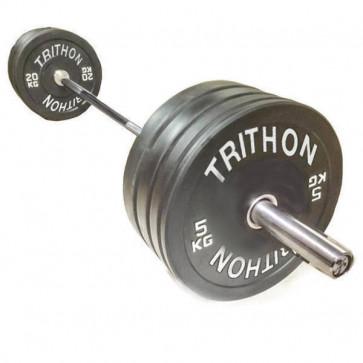 Komple vægtstang og bumperplate vægtskiver