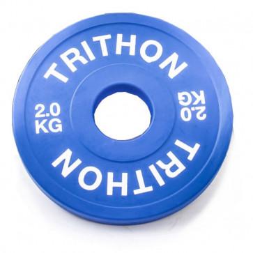 Fraktions vægtskive i 2 kg
