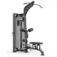Romaskine og pulldown maskine til fitnesscenteret.