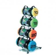 Stativ til power bags med 4 holdere og hjul