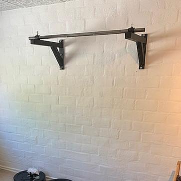 Pullup bar til væggen med lige stang
