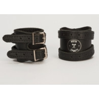Wrist wraps i double ply læder fra Risto Sport