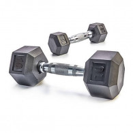 Hexagonale håndvægte med lige sider til pushups