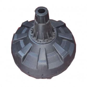 Cylindrisk boksefod der kan rumme op til 130 kg