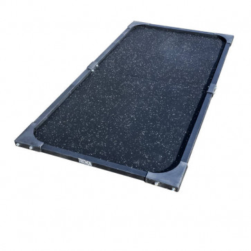 Kompalt lille platform til vægtløftning på 2 x 1 meter