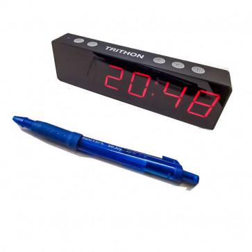 Uret er meget lille og med store tal