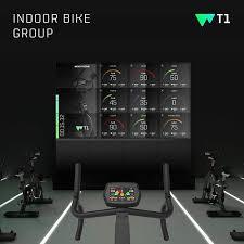 Hold træning med WT1 cykler