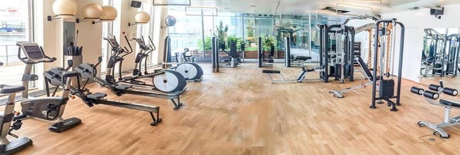 Komplet motionsrum fra Trithon Sport