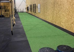 Gulv i et crossfit center