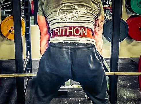 Vægtløfterbælter til fitness