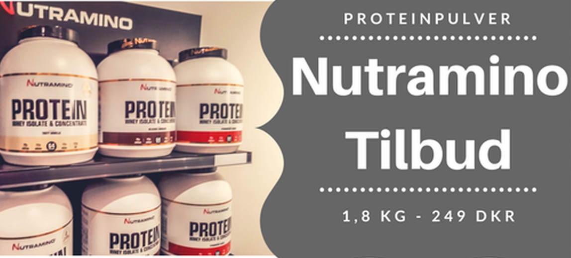 Nutramino proteinpulver tilbud